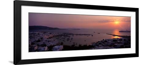 Mykonos Greece--Framed Art Print