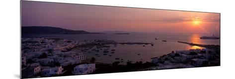 Mykonos Greece--Mounted Photographic Print