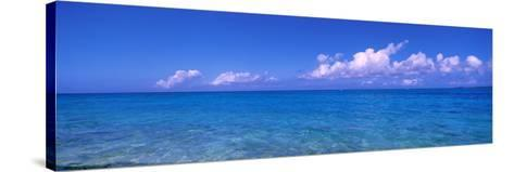 Ocean with Clouds Okinawa Japan--Stretched Canvas Print