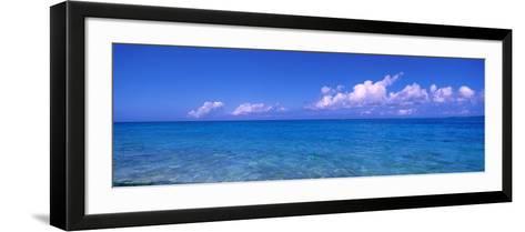 Ocean with Clouds Okinawa Japan--Framed Art Print