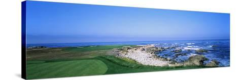 Golf Course on the Coast, Monterey Peninsula, Monterey, California, USA--Stretched Canvas Print