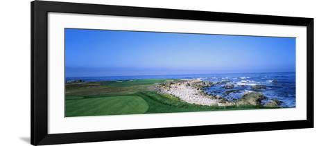 Golf Course on the Coast, Monterey Peninsula, Monterey, California, USA--Framed Art Print