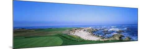 Golf Course on the Coast, Monterey Peninsula, Monterey, California, USA--Mounted Photographic Print