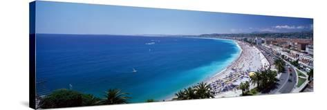 Nice France--Stretched Canvas Print
