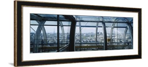 Elevated Walkway in a Museum, Pompidou Centre, Beauborg, Paris, France--Framed Art Print