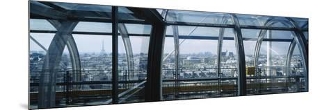 Elevated Walkway in a Museum, Pompidou Centre, Beauborg, Paris, France--Mounted Photographic Print