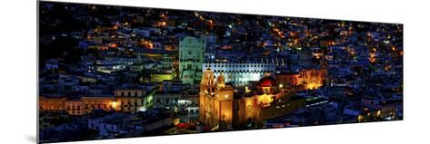 High Angle View of a City, Basilica of Our Lady of Guanajuato, University of Guanajuato--Mounted Photographic Print