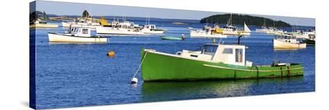 Fishing Boats in the Sea, Stonington, Hancock County, Maine, USA--Stretched Canvas Print