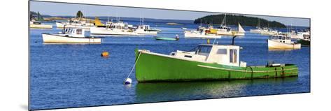 Fishing Boats in the Sea, Stonington, Hancock County, Maine, USA--Mounted Photographic Print
