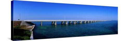 Highway 1 to Key West Florida USA--Stretched Canvas Print