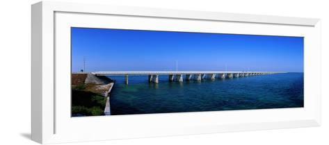Highway 1 to Key West Florida USA--Framed Art Print