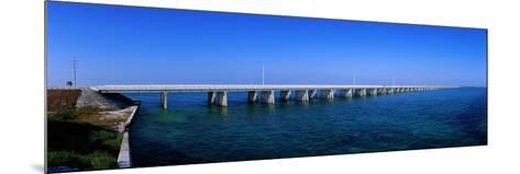 Highway 1 to Key West Florida USA--Mounted Photographic Print