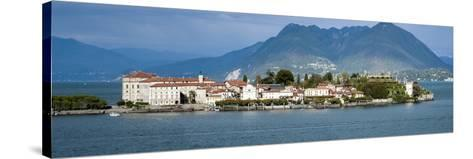 Isola Bella Seen from Ferry, Borromean Islands, Lake Maggiore, Piedmont, Italy--Stretched Canvas Print