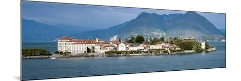 Isola Bella Seen from Ferry, Borromean Islands, Lake Maggiore, Piedmont, Italy--Mounted Photographic Print