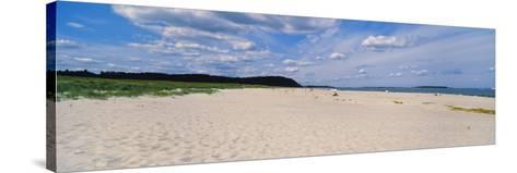 Warm Sand at Crane Beach, Ipswich, Essex County, Massachusetts, USA--Stretched Canvas Print
