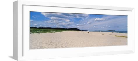 Warm Sand at Crane Beach, Ipswich, Essex County, Massachusetts, USA--Framed Art Print