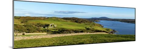 Castle on a Hill, Clifden Castle, Clifden, Connemara, County Galway, Republic of Ireland--Mounted Photographic Print