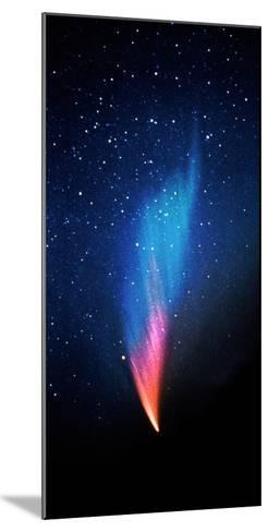 Comet (Photo Illustration)--Mounted Photographic Print