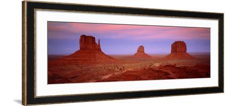 Monument Valley Az/Ut USA--Framed Art Print