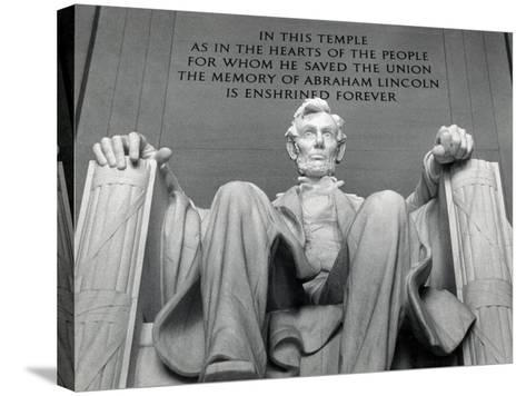 Lincoln-Daniel Chester French-Stretched Canvas Print