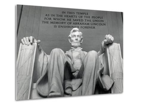 Lincoln-Daniel Chester French-Metal Print