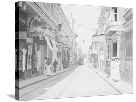 San Francisco Street--Stretched Canvas Print