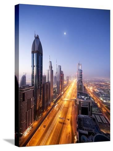 City Skyline, Dubai, UAE--Stretched Canvas Print
