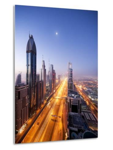 City Skyline, Dubai, UAE--Metal Print