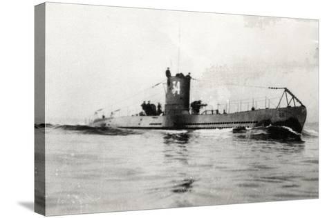 German Type Viia Submarine U-34--Stretched Canvas Print
