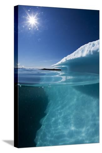 Iceberg in Disko Bay--Stretched Canvas Print