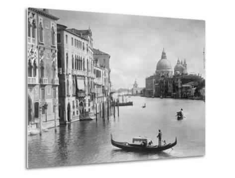 Grand Canal in Venice--Metal Print
