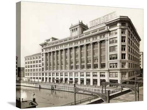 Exterior View of Gimbels Department Store--Stretched Canvas Print