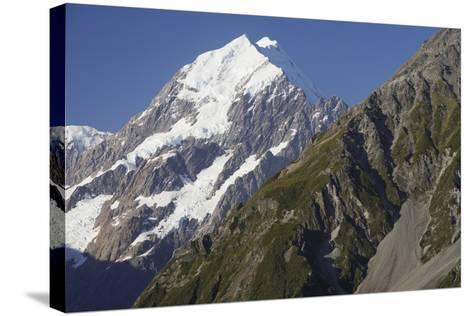 Mount Cook and Southern Alps--Stretched Canvas Print