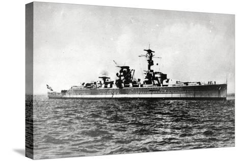 Heavy Cruiser Admiral Scheer--Stretched Canvas Print