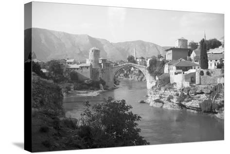 View of Turkish Bridge--Stretched Canvas Print