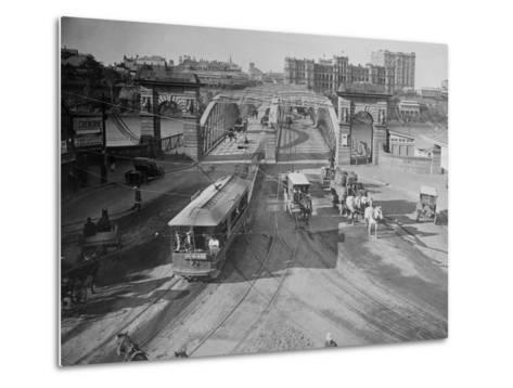 View of Victoria Bridge--Metal Print