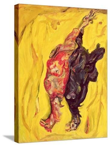 Two Pheasants, C. 1919-Chaim Soutine-Stretched Canvas Print