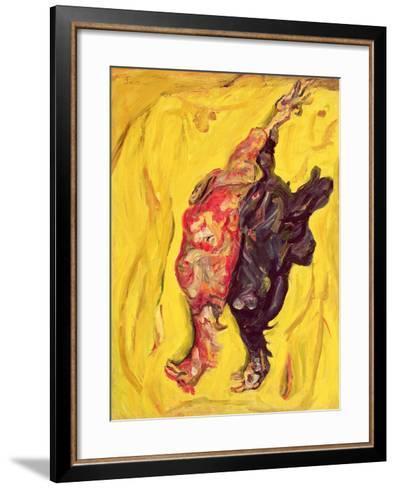 Two Pheasants, C. 1919-Chaim Soutine-Framed Art Print