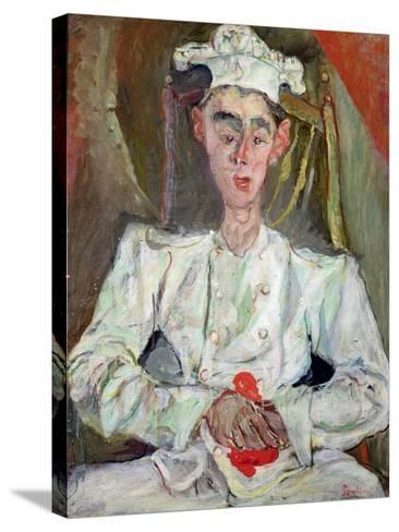 The Little Pastry Cook, 1922-Chaim Soutine-Stretched Canvas Print
