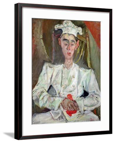 The Little Pastry Cook, 1922-Chaim Soutine-Framed Art Print