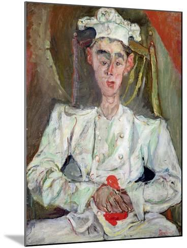 The Little Pastry Cook, 1922-Chaim Soutine-Mounted Giclee Print