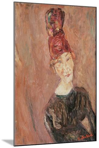 Woman with a Hat, 1926-Chaim Soutine-Mounted Giclee Print