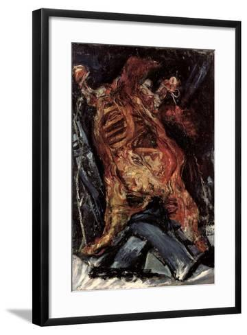 Side of Beef-Chaim Soutine-Framed Art Print