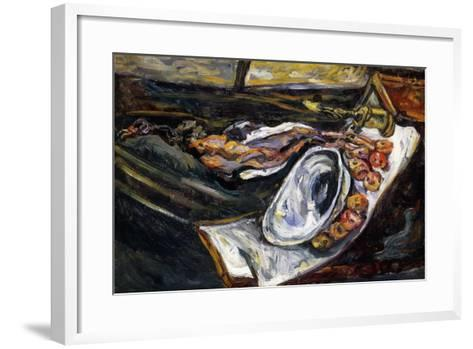 Still Life with Pheasant, Nature Morte au Faisan, 1918-Chaim Soutine-Framed Art Print