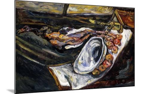 Still Life with Pheasant, Nature Morte au Faisan, 1918-Chaim Soutine-Mounted Giclee Print