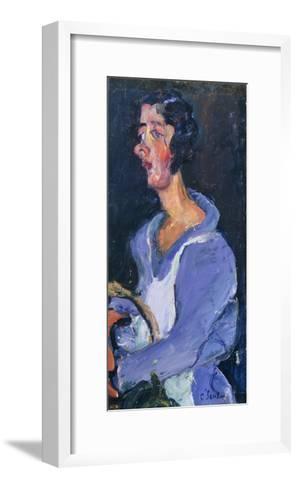 The Cook (Woman in Blue), La Cuisiniere (Femme en Bleu), C. 1935-Chaim Soutine-Framed Art Print
