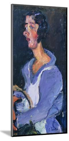 The Cook (Woman in Blue), La Cuisiniere (Femme en Bleu), C. 1935-Chaim Soutine-Mounted Giclee Print