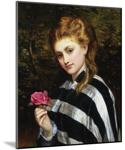 The Red Rose-Charles Sillen Lidderdale-Mounted Giclee Print