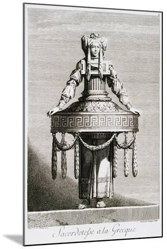 Sacerdotefse a La Greque-Ennemond Alexandre Petitot-Mounted Giclee Print