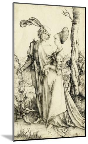 Promenade (Young Couple Threatened by Death)-Albrecht D?rer-Mounted Giclee Print